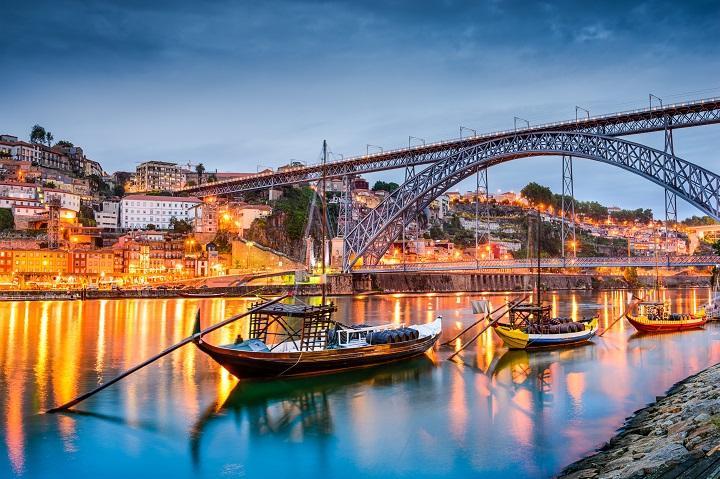Ponte Dom Luis, Porto, Portogallo (skyscanner)