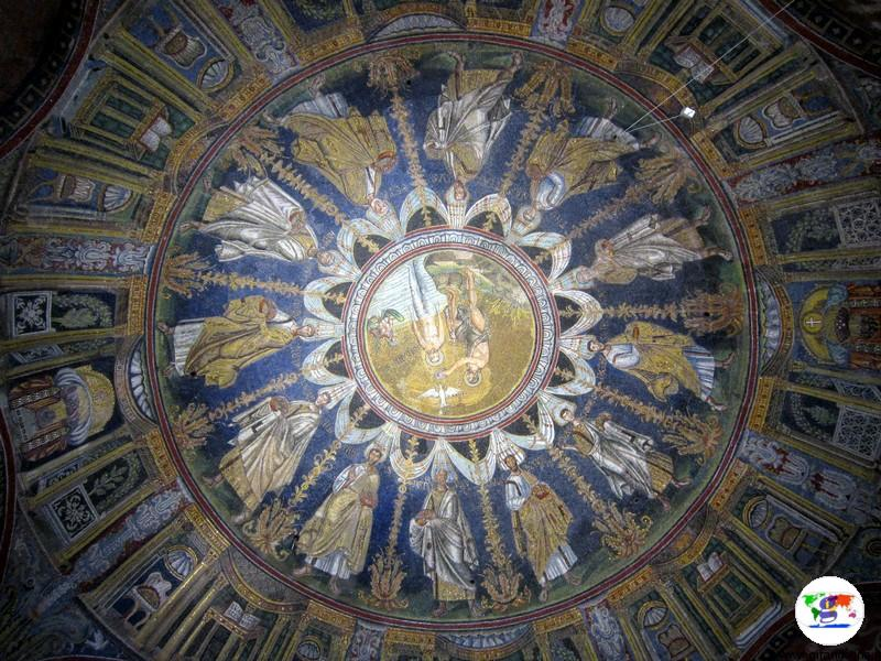 Battistero Ariano,Ravenna