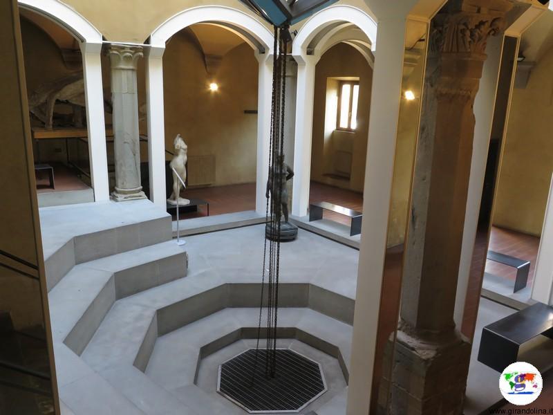 Fondazione Marino Marini Pistoia, il chiostro