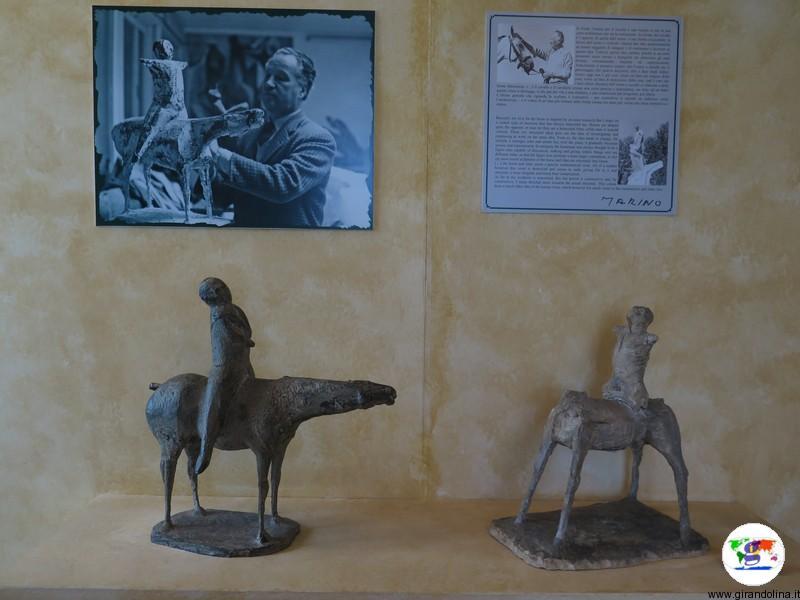 Fondazione Marino Marini Pistoia, il gruppo equestre