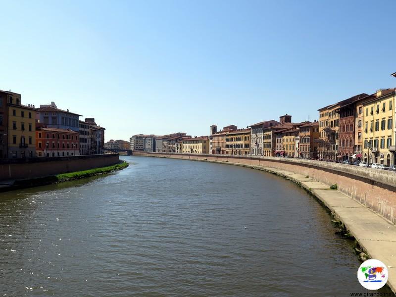 Pisa e il fiume Arno