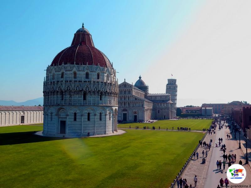 Pisa ,Piazza dei Miracoli