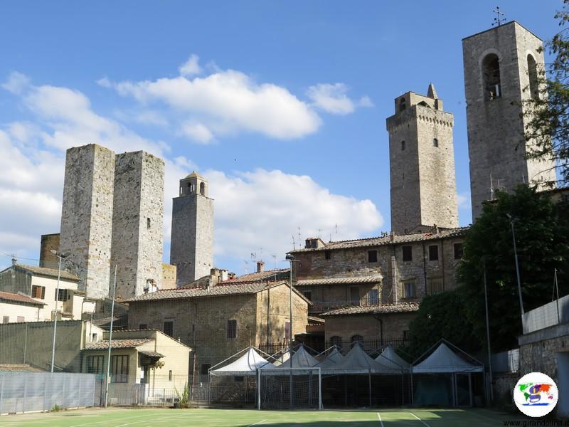 San Gimignano, e le sue torri