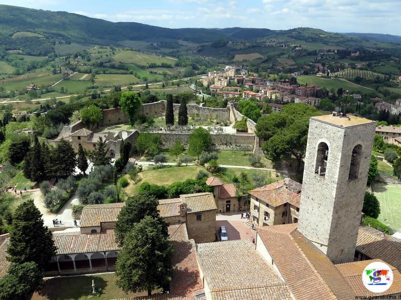 San Gimignano, panorama dalla Torre Grossa