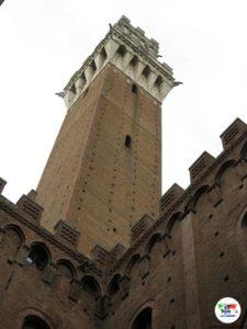 Siena Piazza del Campo, Torre del Mangia