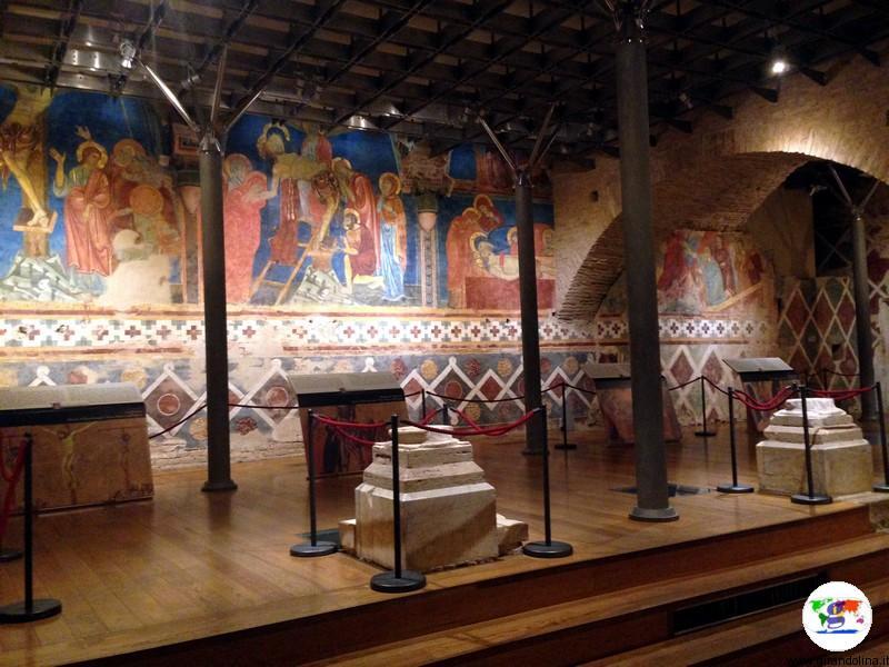 Siena, la Cripta