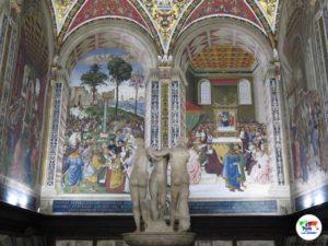 Duomo di Siena interno, Libreria Piccolomini