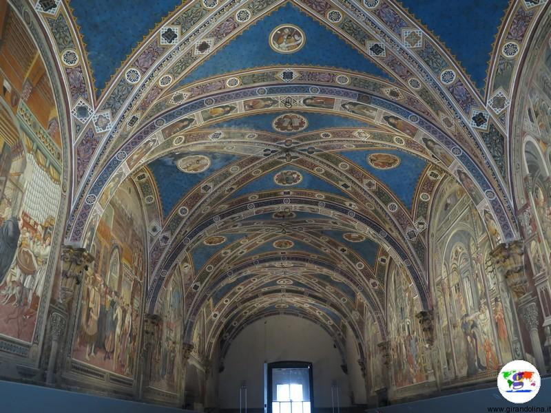 Il Pellegrinaio dentro all' Ospedale di Santa Maria dellla Scala