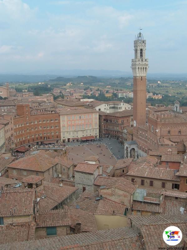 Siena e Piazza del Campo