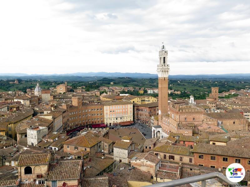 Siena , Piazza del Campo
