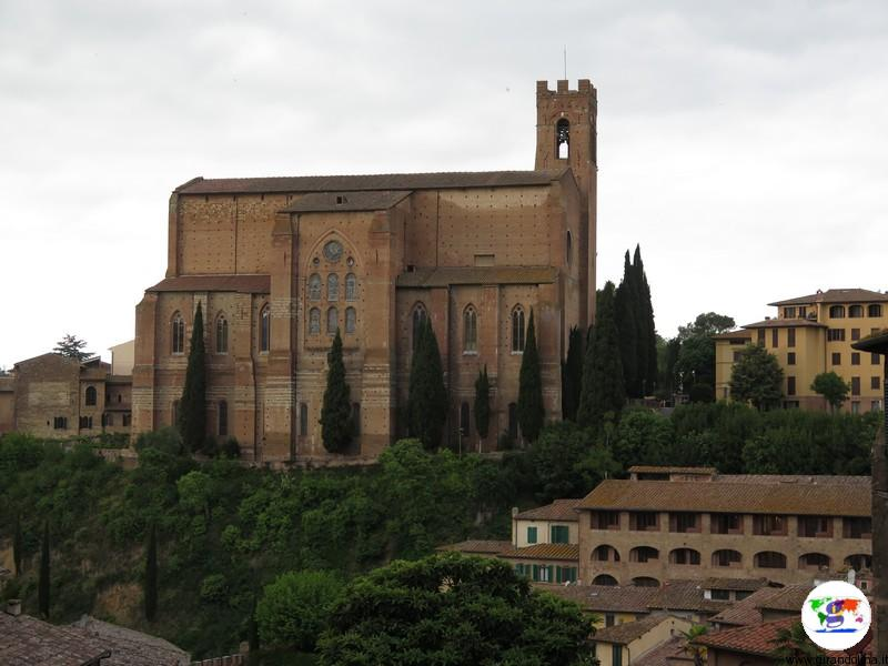 Siena, la Basilica di San Domenico
