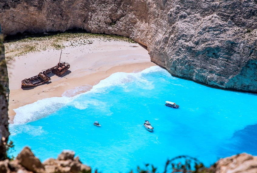 Zante - Spiaggia del Relitto (ph Bongitravel)
