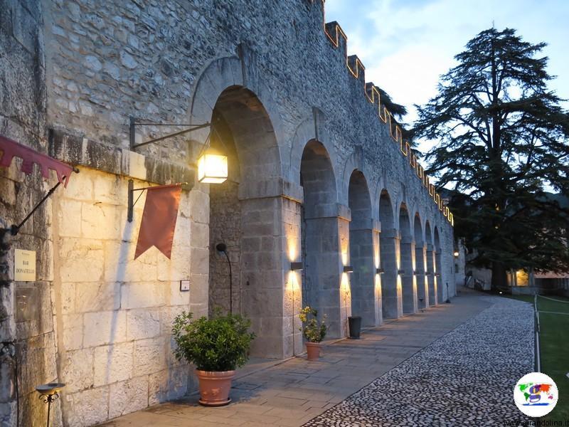 CastelBrando , i criptoportici e l' albero di natale più alto del Veneto
