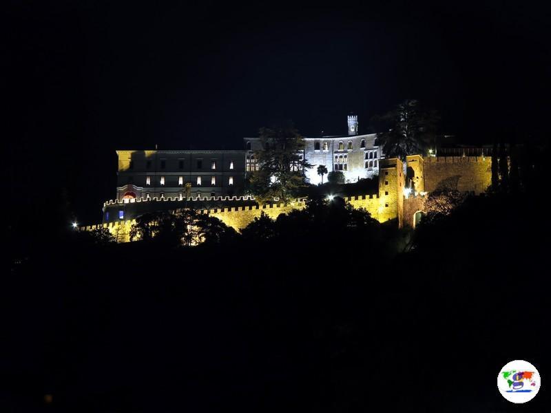 CastelBrando , in versione notturna