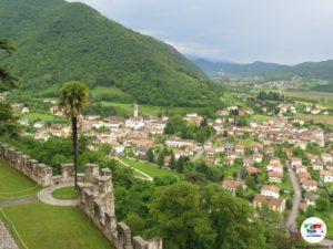 CastelBrando, panorama