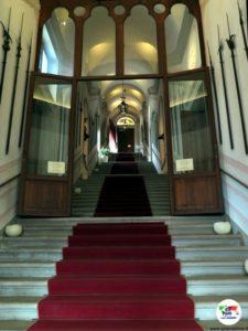CastelBrando, lo scalone d'onore
