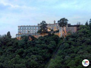 CastelBrando, al tramonto