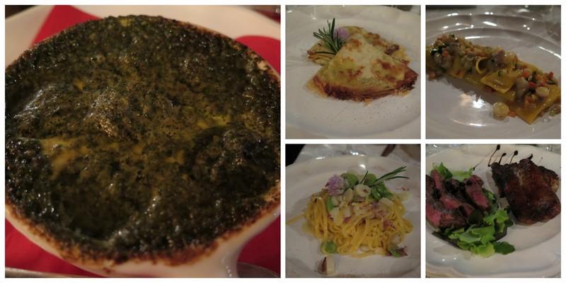 Valdobbiadene, Villa Sandi, la Locanda Sandi il nostro menù che abbiamo gustato
