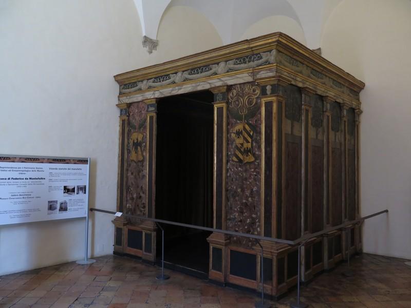 Palazzo Ducale di Urbino, l'Alcova del Duca
