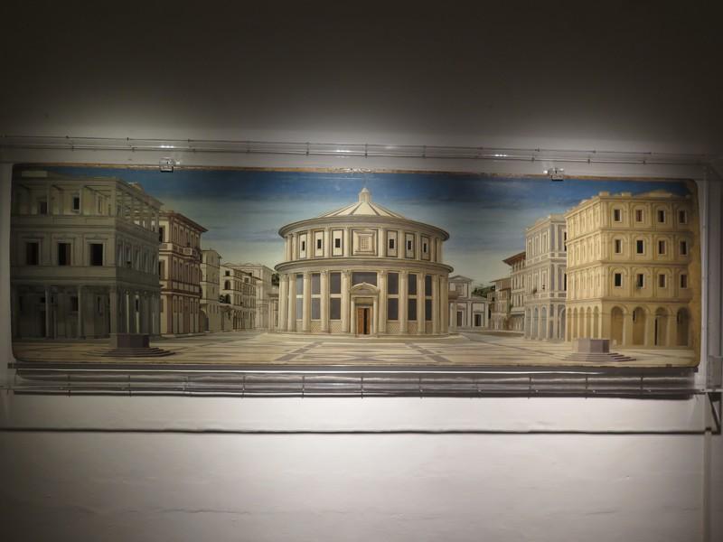 Palazzo Ducale di Urbino, il dipinto della Città Ideale