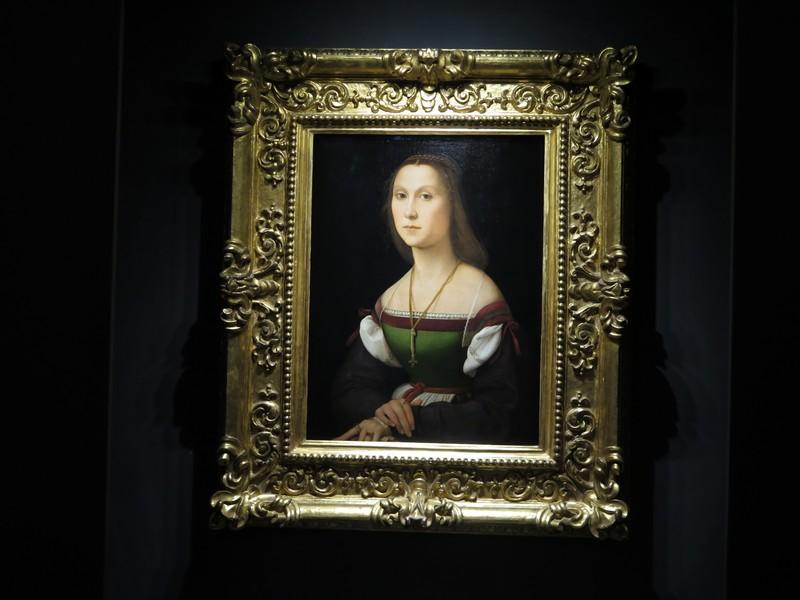 Palazzo Ducale di Urbino, il dipinto La Muta