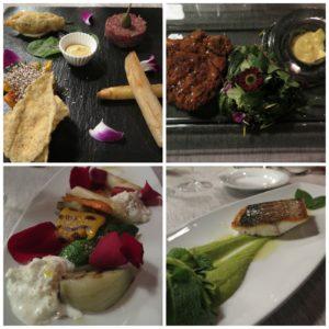 Il menù gustato al DiVino Osteria Trevigiana, presso il Best Western Premier BHR Treviso Hotel