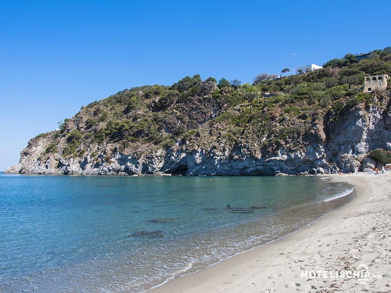 Ischia, spiaggia San Francesco Forio