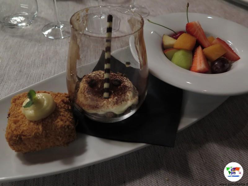 Il dolce gustato presso il DiVino Osteria Trevigiana, presso il Best Western Premier BHR Treviso Hotel