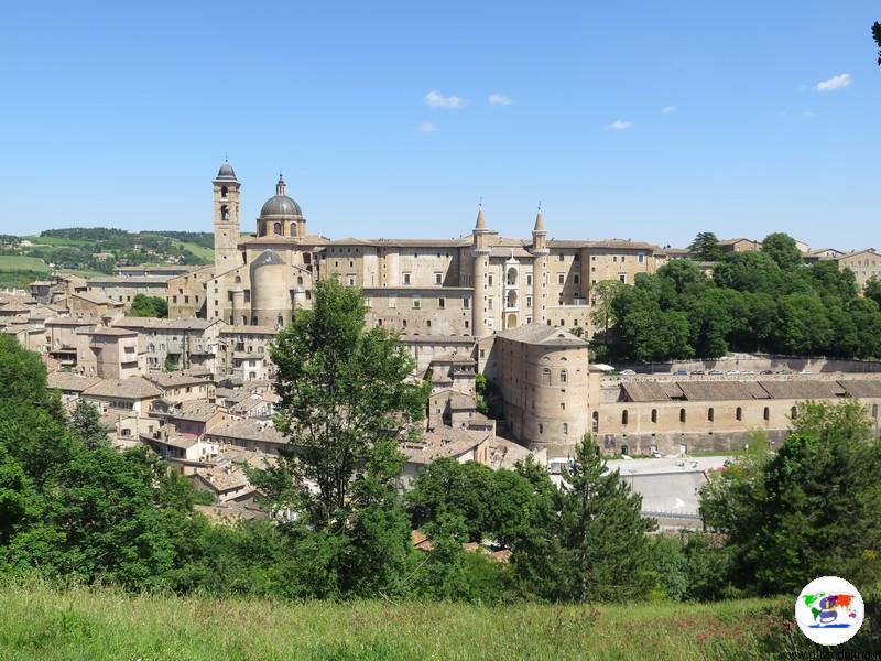Urbino, panorama dal Parco della Resistenza