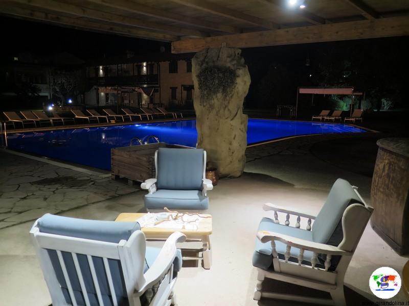 Valdobbiadene, Ai Cadelach Hotel Ristorante & Benessere, la favolosa piscina