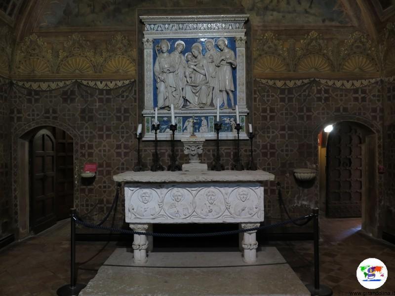 Il Castello di Gradara, la Terracotta di Andrea della Robbia