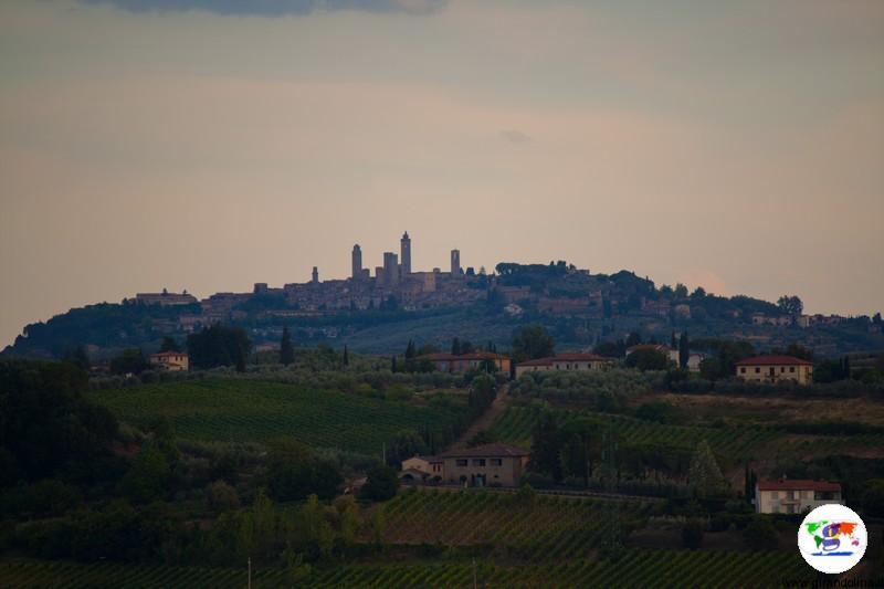 Mercantia 2017, la veduta di San Gimignano (photo credits Laura C.)