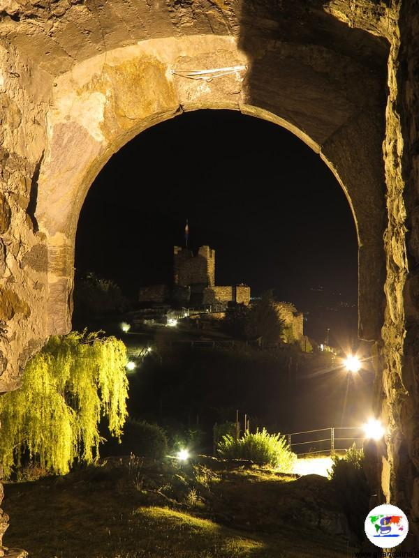Castel Grumello by night