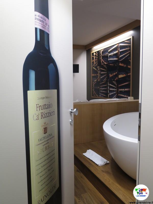 La nostra junior suite presso il Wine Hotel Retici Balzi