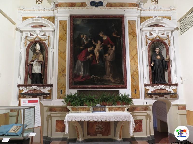 Chiesa di S. Carlo Borromeo a Pienza