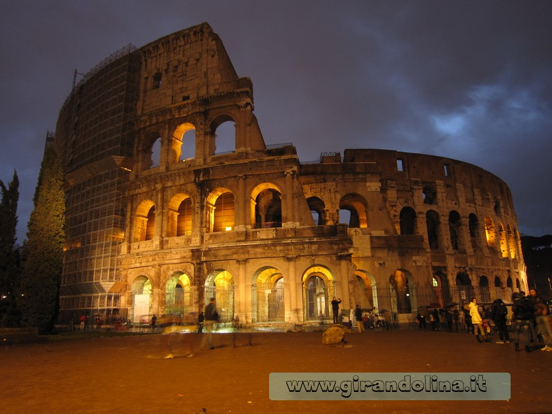 Location cinematografiche- Roma- il Colosseo