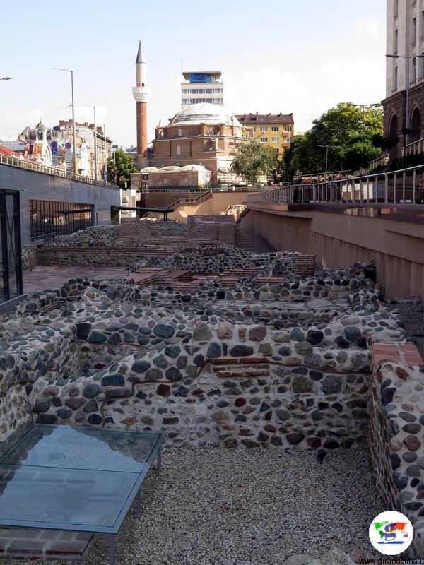 Sofia i resti dell'Antica Serdica