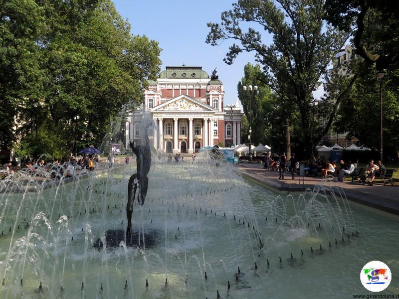 Sofia il Teatro Ivan Vazov