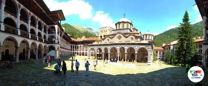 Monastero di Rila panoramica