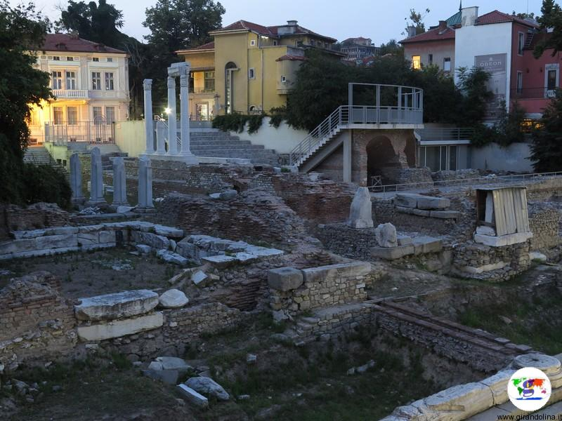 L'Antico Forum e L'Odeon di Philippopolis