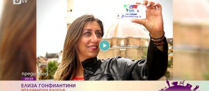 La nostra video intervista sulle reti televisive bulgare