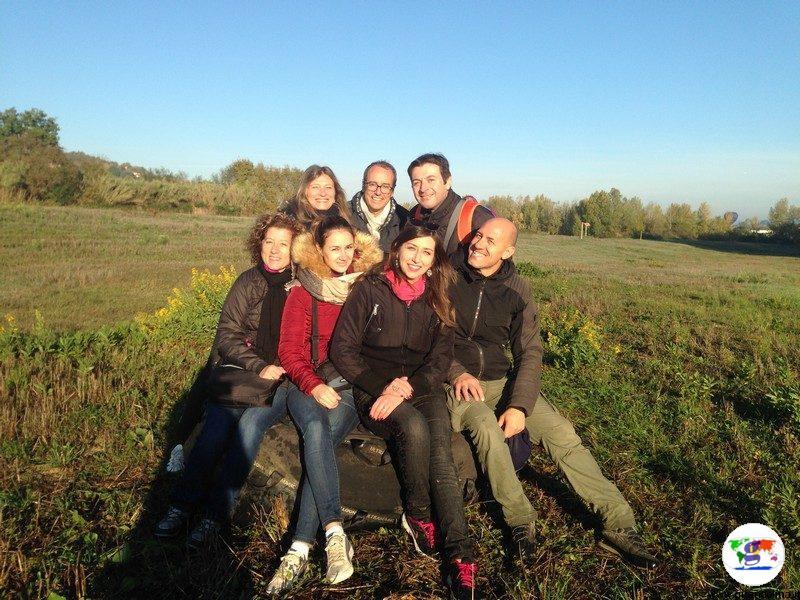 Volare in Mongolfiera in Toscana, il nostro gruppo di volo