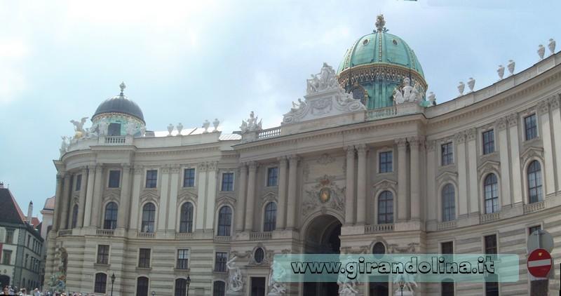 Vienna, il Castello Hofburg