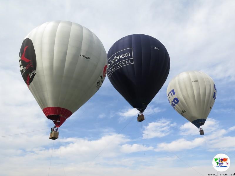 Festival delle Mongolfiere a Firenze, il volo vincolato
