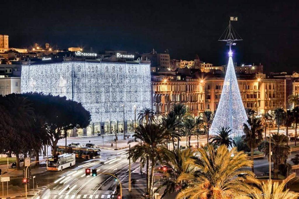 Cagliari Natalizia (Credit castedduonline.it)
