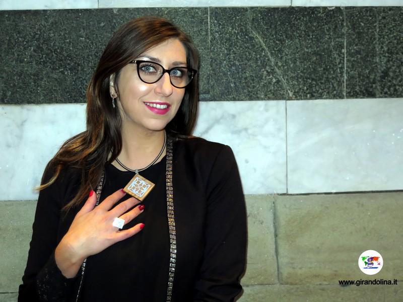 Il collier e l'anello della Collezione Pistorium di Giordano Pini, dedicato a Pistoia Capitale della Cultura 2017