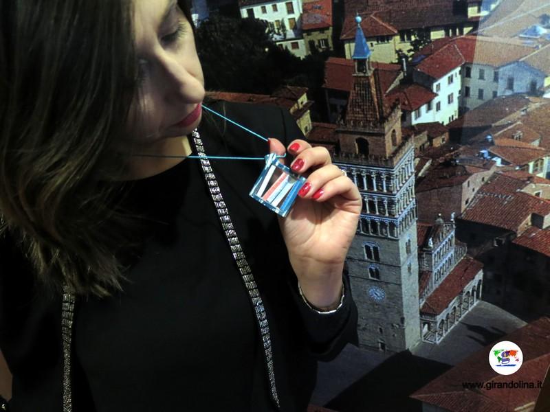 Il collier della Collezione Pistorium di Giordano Pini, dedicato a Pistoia Capitale della Cultura 2017