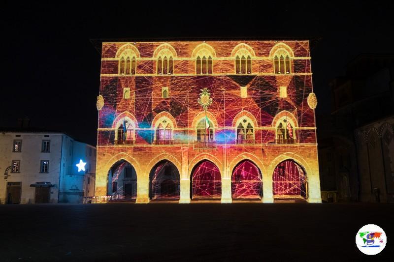 Pistoia Capitale Italiana della Cultura 2017- Spettacolo Suoni e Luci we light you