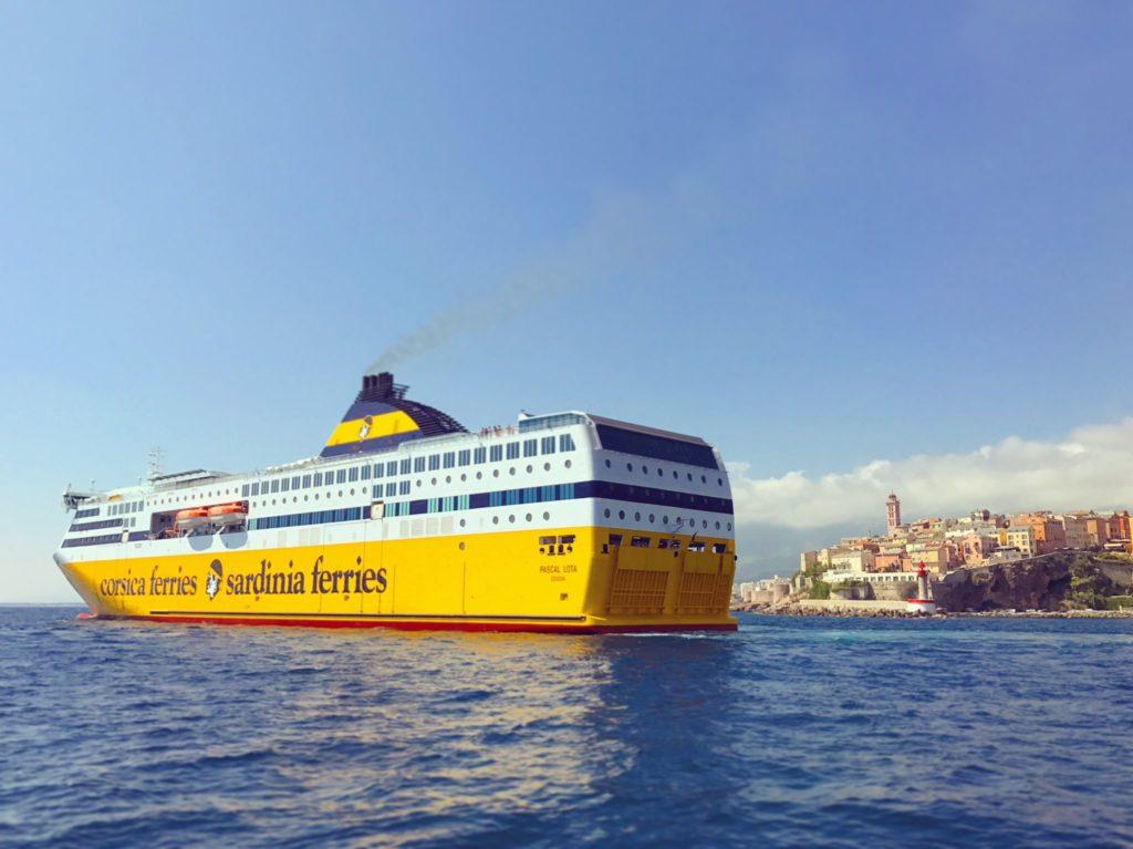 Crociera Corsica Ferries- il porto di Bastia