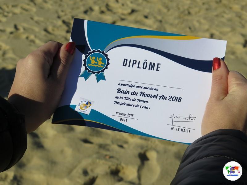 Tolone Bain du Nuovel an 2018